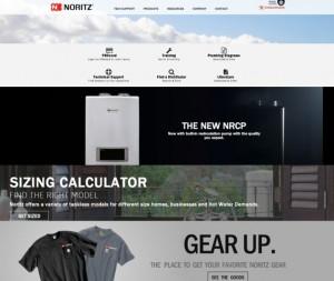 Noritz Professional Page