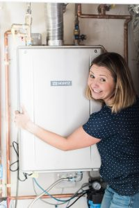 beverly mitchell and noritz tankless water heater