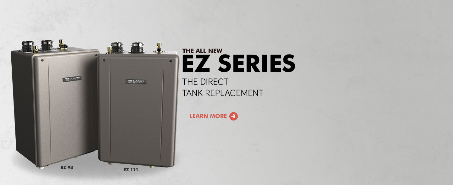 Tankless Water Heaters Always Hot Noritz