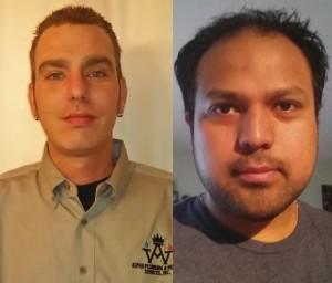 Scott King and Moises Ortiz, Alpha Plumbing & Heating Services, Inc.