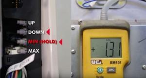 adjusting manifold gas pressures