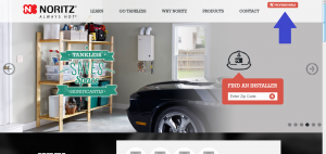 Noritz Professional Website