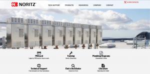 Noritz Professionals Website