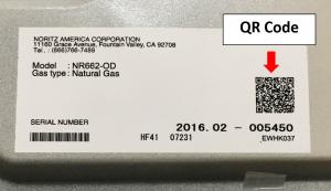 Noritz PROCard QR Code