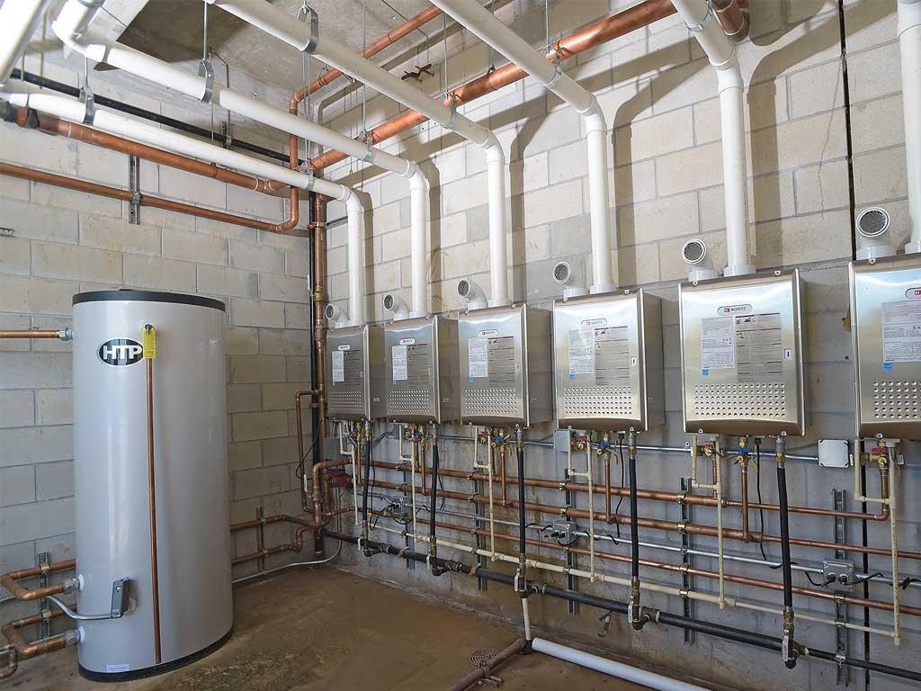 Tankless Water Heaters Heats Florida Jail Noritz