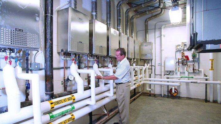 Burleson Centennial High Uses Energy Saving Heating Noritz