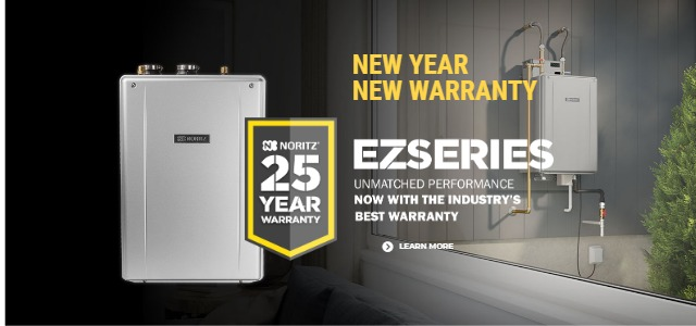 Tankless Water Heater Endless Hot Water Noritz